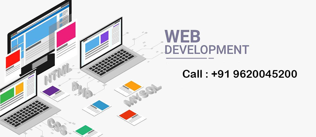 Web Development in MG Road