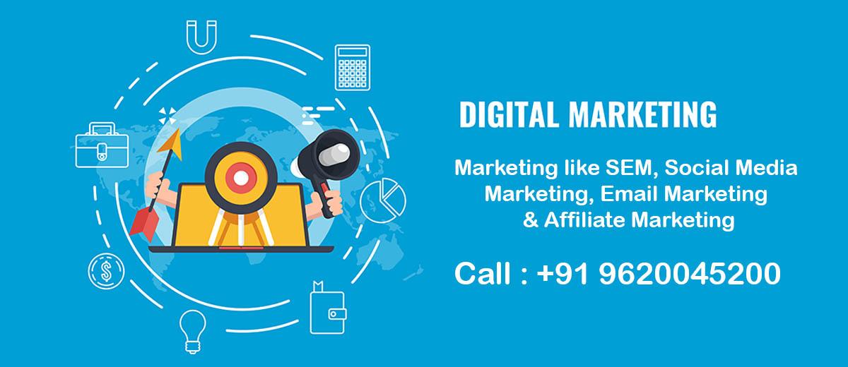 Digital Marketing in Jalahalli cross